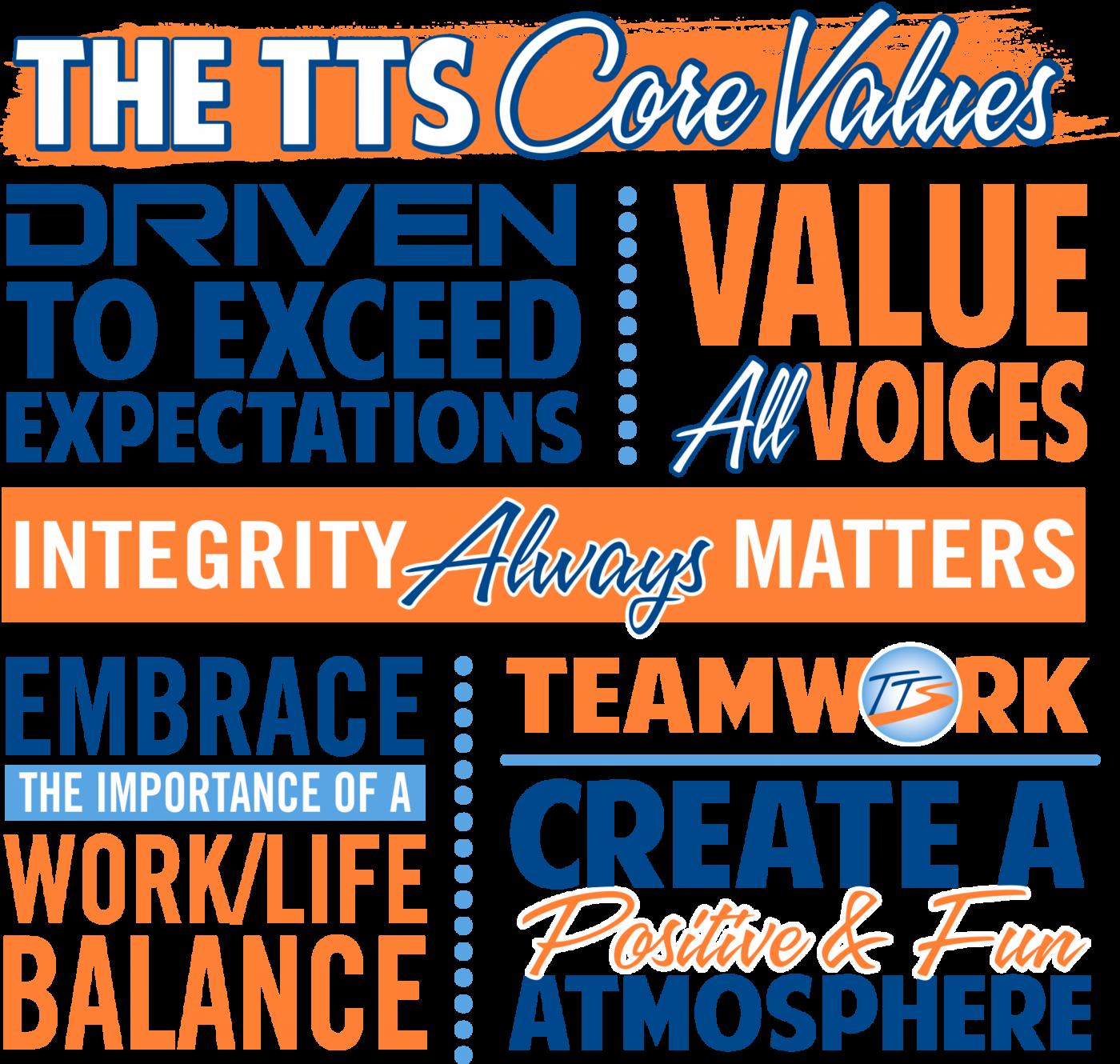 TTS Core Values